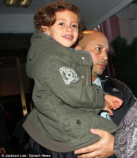 Growing up fast! A bodyguard took charge of the star's son Max