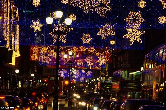London Regent Street Christmas Lights Fail To Impress With