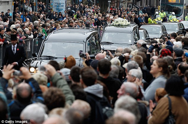 Image result for jimmy savile funeral
