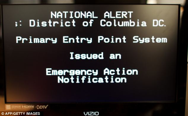 Alarm: The FCC and the Federal Emergency Management Agency, FEMA, conducted the first-ever nationwide test of the national Emergency Alert System
