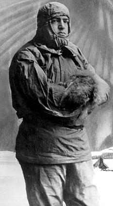 Hidden: Shackleton kept his romance with Hope Paterson secret