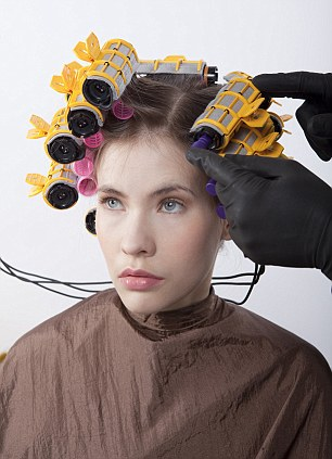 hair perm salon rollers curlers curls permanent wave quotes