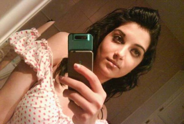 Dead: Sahar Shafia, 17 was found on the back seat of the family's car next to Rona Amir