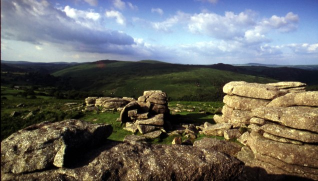 National park: The burial site excavation took place at Whitehorse Hill on Dartmoor (general photo of the national park), one of the park's tallest peaks