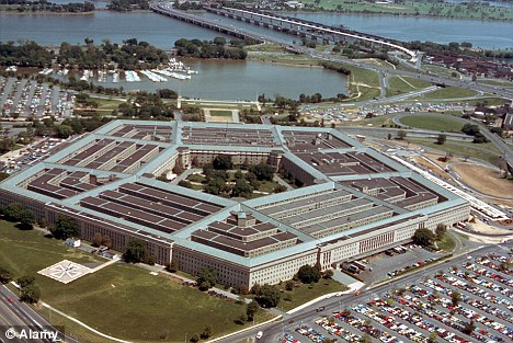 Defence: The paper was written for Congress by security chiefs at the Pentagon in response to growing problems with cyber attacks