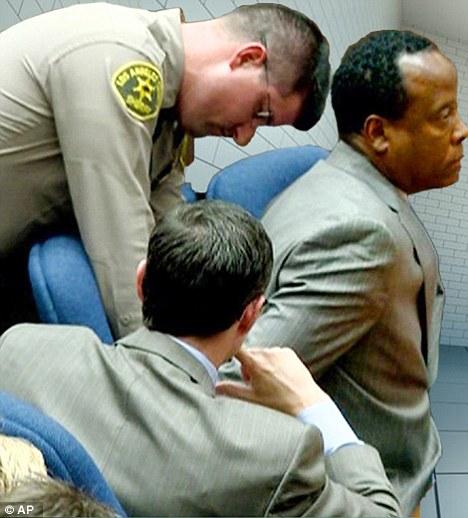 Guilty: ex-médico Michael Jackson, Conrad Murray, foi condenado em novembro de homicídio involuntário