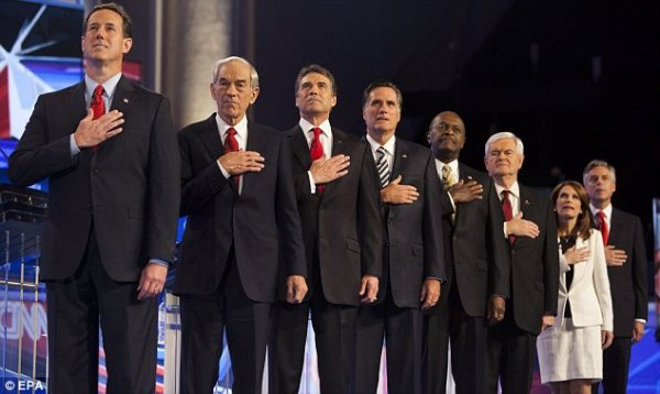 Republican debate: Candidates come out swinging on GOP ...