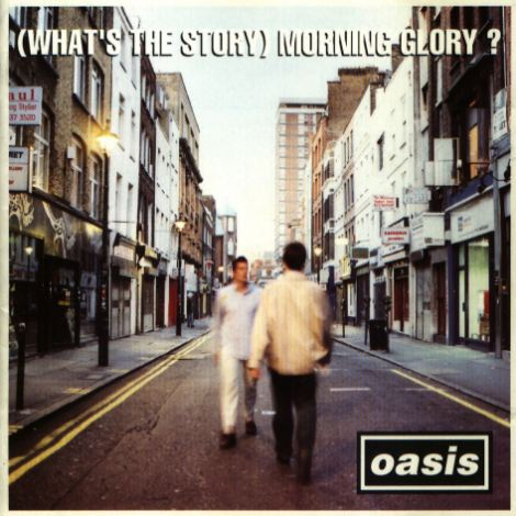 Image result for oasis what's the story morning glory cover