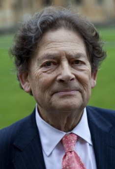 Former Chancellor Nigel Lawson was strongly critical of those who supported the 'Climategate' scientists