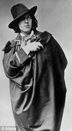 Irish writer and poet Oscar Wilde who died in Paris in 1900 aged 46. His restored tomb will be unveiled this week