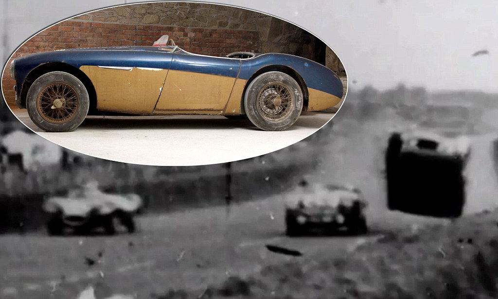Austin Healey Racing Car Involved In 1955 Le Mans Disaster