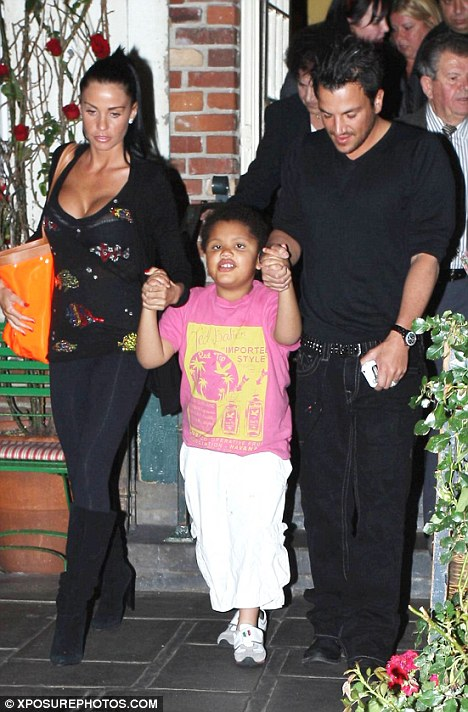 Katie Price and Peter Andre settle Harvey case | Daily ...