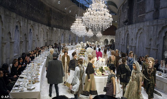 Chanel Metiers DArt Show Karl Lagerfelds Opulent Indian