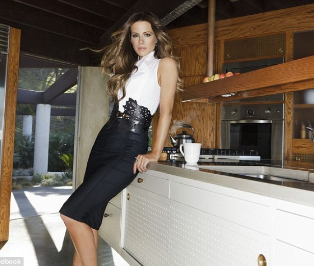 Cover Girl Kate Beckinsale Tells Redbook Magazine That She Hasnt Ruled Out Posing