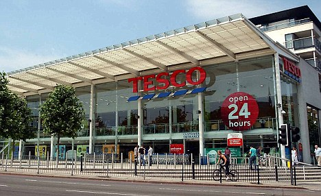 Fair game: Tesco insists that it complied with consumer rules by selling the turkeys at their full original price during the summer months of August and September