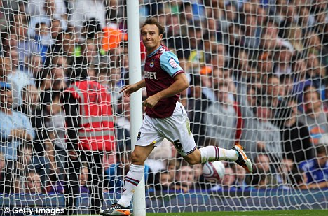 Mark my words: West Ham midfielder Mark Noble is wanted by Fulham