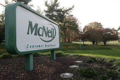 Troubles: Johnson & Johnson's McNeil Consumer Healthcare plant in Pennsylvania was shut down last year after serious problems were discovered