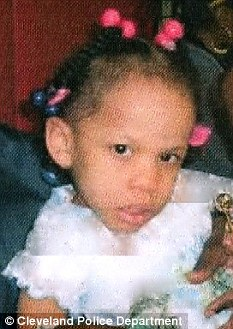 Disappeared: Kaliyah Parker was last seen in 2006, relatives say