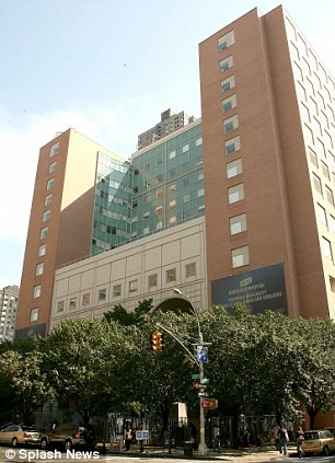 Expecting a VIP: St. Luke's Roosevelt Hospital in New York City