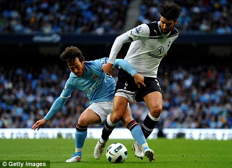 On the move? Corluka looks set to head est to Upton Park