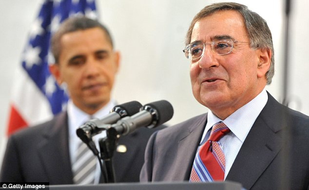 Addressed: The Council on Islamic-American Relations has written to Defence Secretary Leon Panetta, pictured here with U.S. President Barack Obama