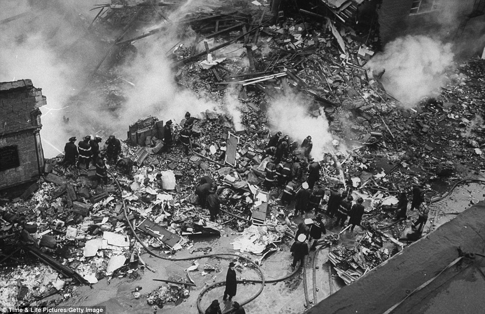 Where to begin? When the United jet crashed on December 16, 1960, it set ablaze more than 200 homes in the neighbourhood of Victorian townhomes