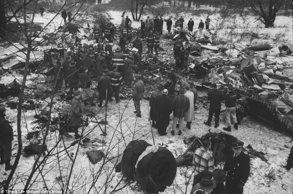 Another scene of chaos: The New York Daily News described the Staten Island wreckage to resemble a battlefield, with bodies and Christmas presents strewn across the field