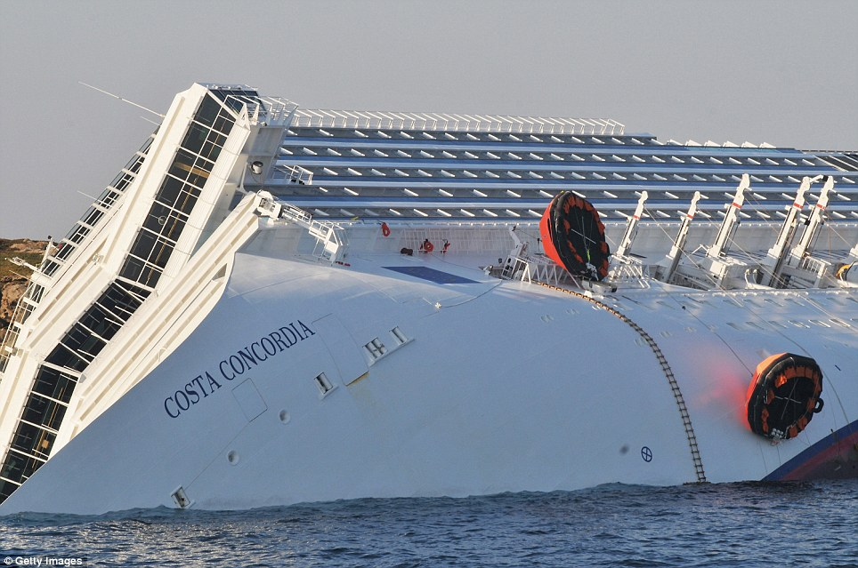 Foto Kapal Costa Concordia Tenggelam | Gambar Kapal Titanic dari Italia Karam