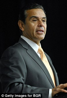 Signed off: Los Angeles Mayor Antonio Villaraigosa has approved a law forcing porn stars to wear condoms while filming in the city