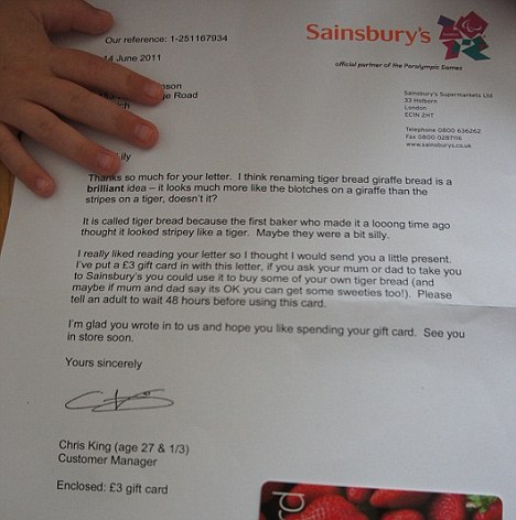 Understanding: This witty and friendly reply from Customer Manager Chris King won him a lot of praise