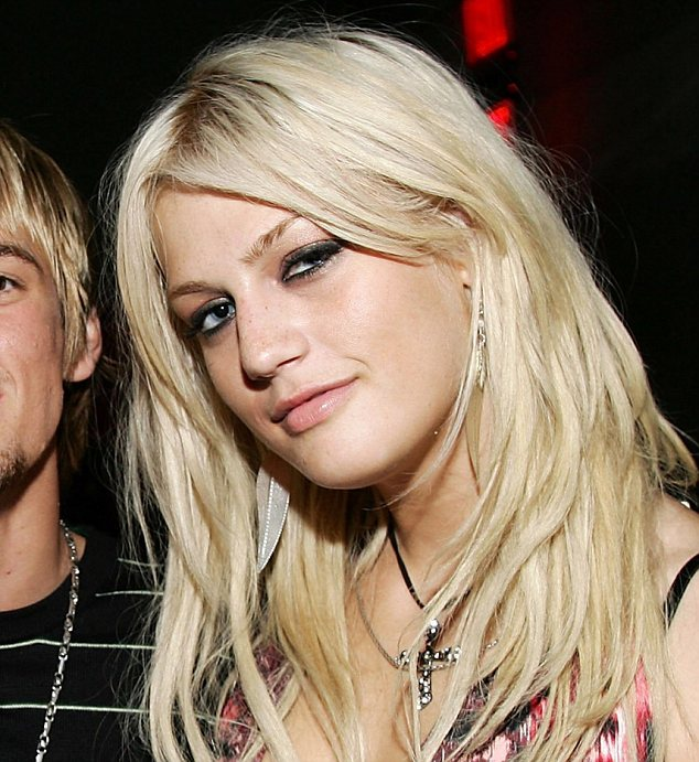Tragic loss: Leslie Carter, seen here in 2006, died yesterday at the age of 25