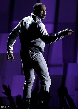 Bad move?: Some celebrities slammed Chris Brown after he performed twice at the awards ceremony