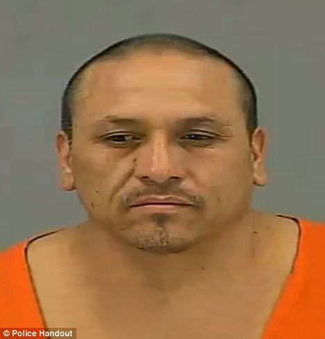 Arrested: Detectives followed a trail of candy wrappers to alleged burglar Jose Lopez Jr's home