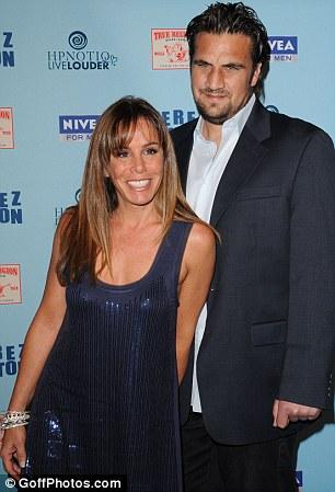 Happy memories: Melissa pictured with ex-boyfriend Jason Zimmerman before the split
