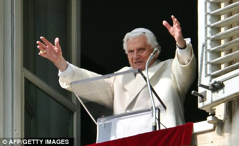 Serious interest: The Vatican, under Pope Benedict XVI, is said to want to see the recently re-discovered Bible