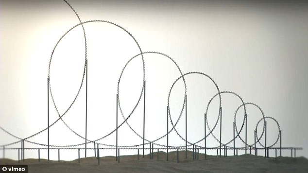 Spiraling to death: The loops get tighter and tighter as the roller coaster progresses