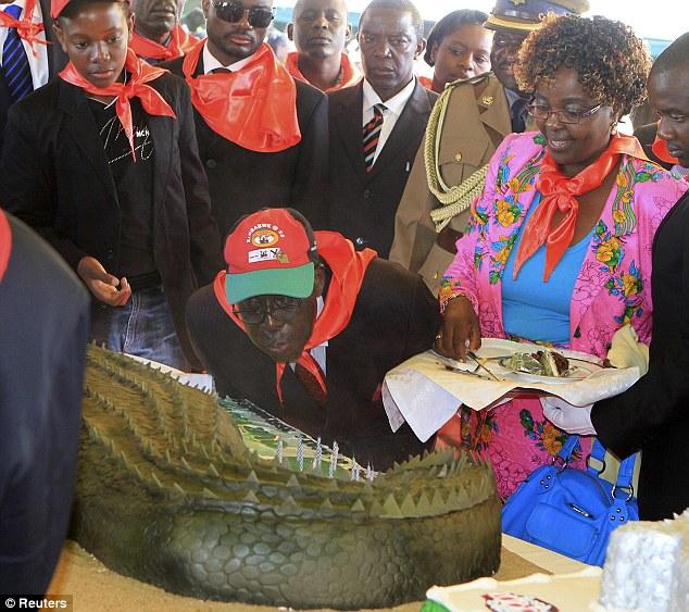 Mugabe The Old Croc Zimbabwean President Celebrates 88th