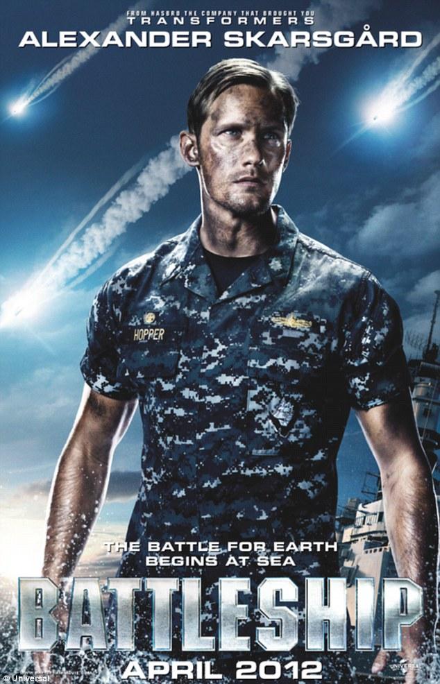 Rihanna Plays With Big Guns In Battleship Movie Poster