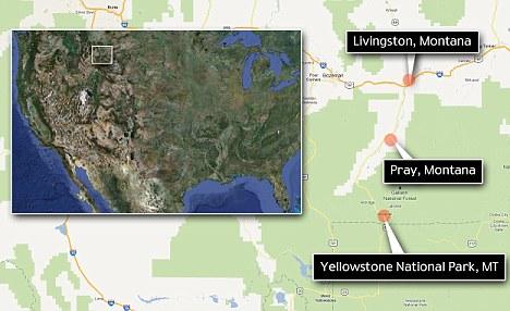 Ubicación: Situado entre Livingston, Montana y el Parque Nacional de Yellowstone, la ciudad cuenta con su ubicación como una parte importante de su encanto