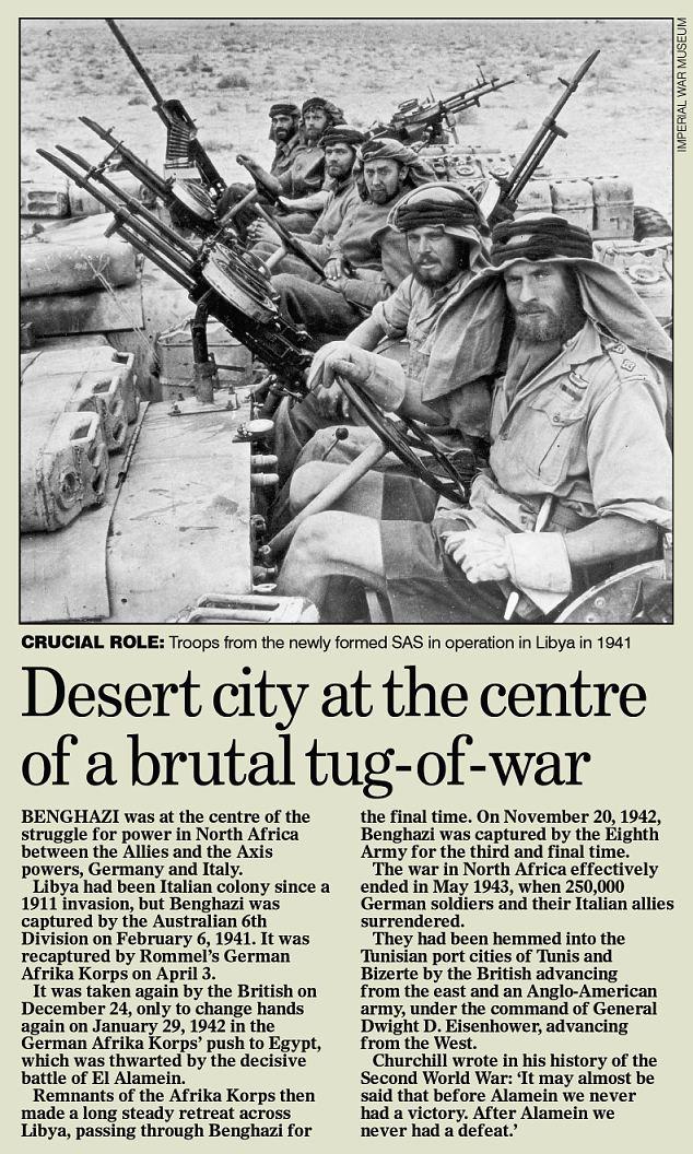 Desierto de la ciudad en el centro de un brutal tirón de la guerra
