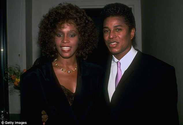 As they were: Jermaine Jackson and Whitney Houston are alleged to have had a year-long affair in 1984