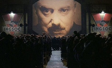 Adaptation: Orwell's novel was adapted for a film starring John Hurt and Richard Burton