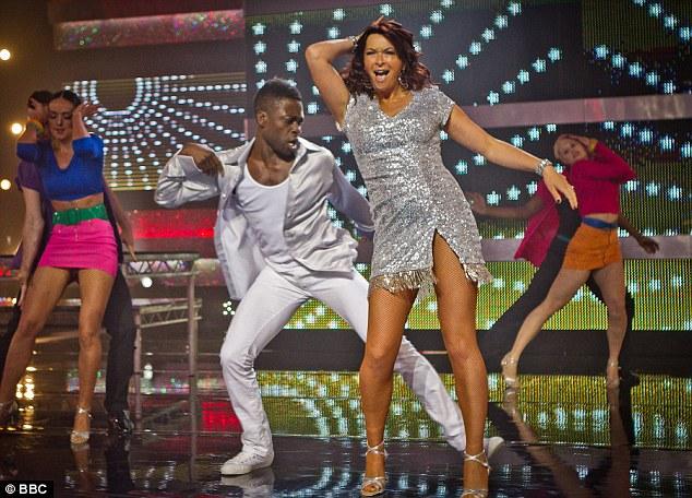 Rumba: the Gadget Show's Suzi and Otis shimmied to Livin' La Vida Loca by Ricky Martin