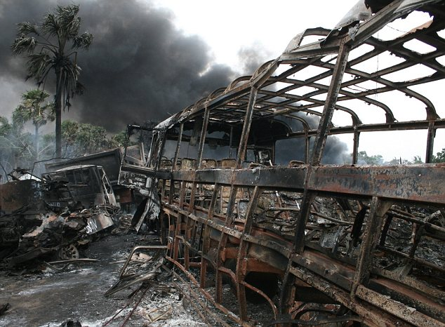 More images of the aftermath captured by Channel 4 film Sri Lanka's Killing Fields