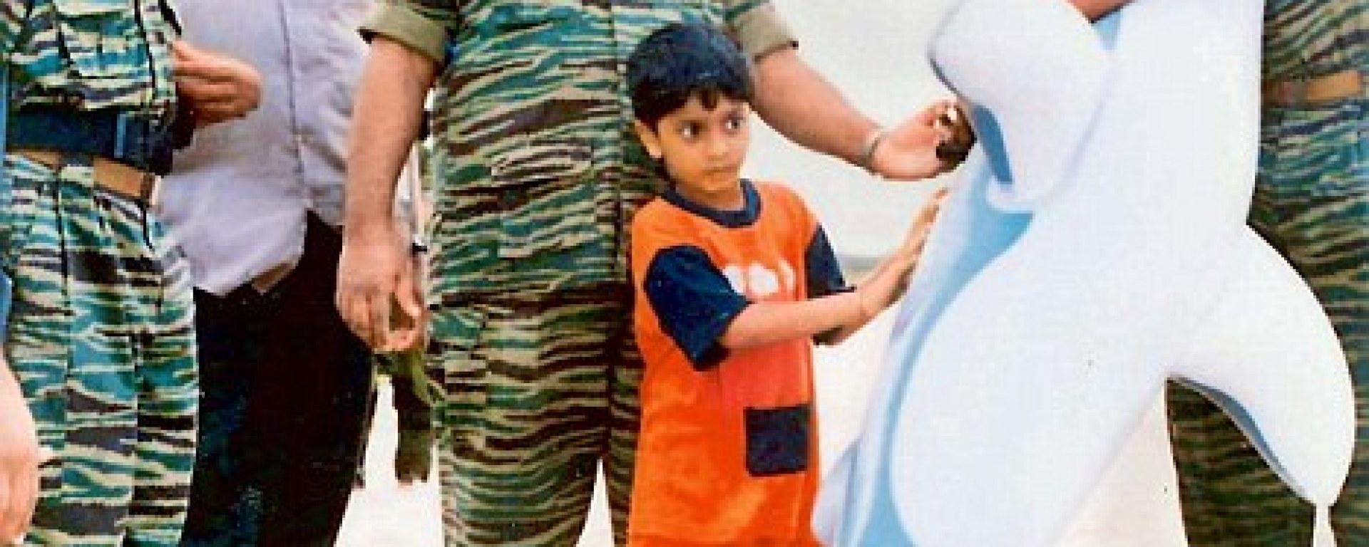 New Photographs Show LTTE Leader Prabhakarans Son Before