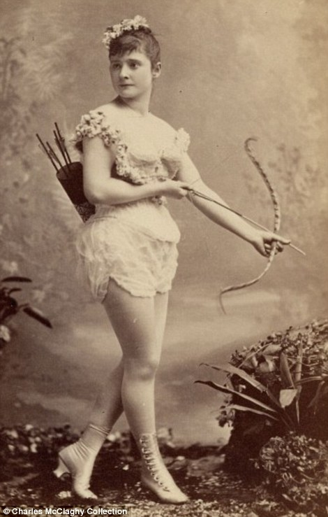 Exotic dancers of 1890s