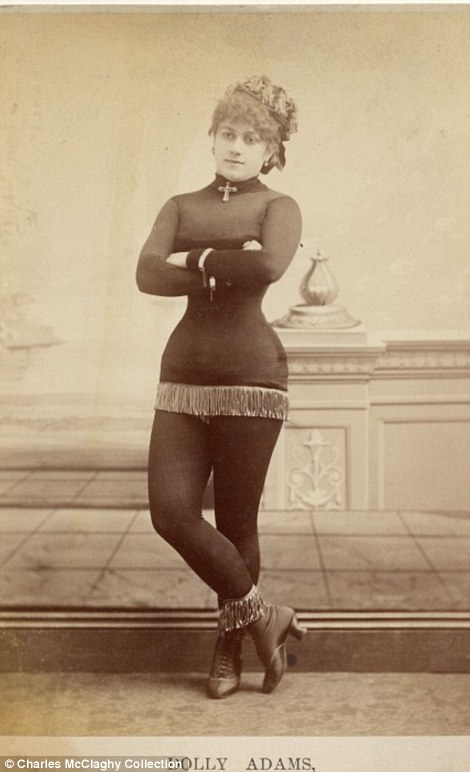 exotic dancers 1890s