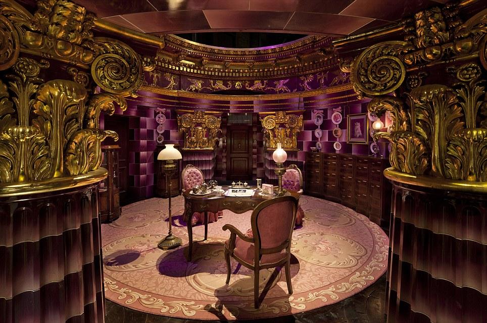 Magical: Professor Umbridge's office inside the Ministry of Magic at the Harry Potter film studios