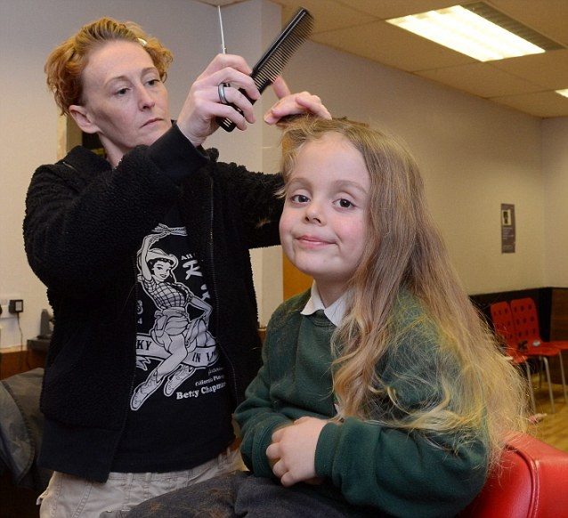 Rean Carter Has Had His First Hair Cut Five Years After