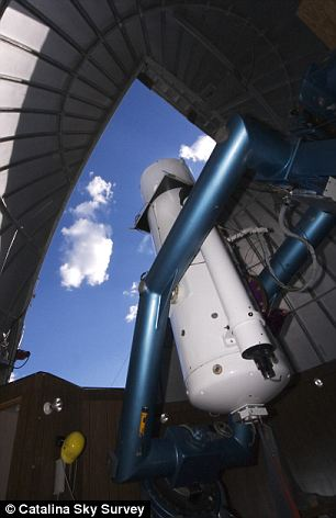 Sky's the limit: The Schmidt Telescope is located on Mt. Bigelow in the Catalina Mountains just north of Tucson, Arizona